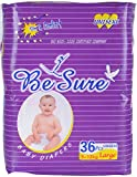 BeSure Baby Diaper - Large, 9 - 13 kg, 3...