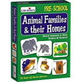 Creative's Education Aids 0620 Animal Families and Their Homes