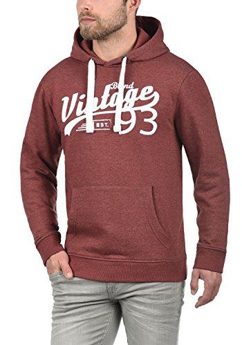 BLEND Vince Herren Kapuzenpullover Hoodie Sweatshirt mit optionalem Teddy- Futter aus hochwertiger Baumwollmischung Meliert Andorra ...