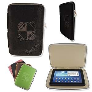 """7"""" pouces Étui Housse Pochette Sleeve en Néoprène pour Alcatel OneTouch POP 7 & 7S Tablet PC - Noir"""
