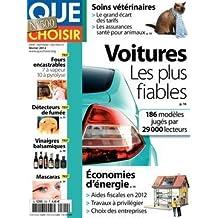 Que Choisir n° 500 - Février 2012 - Test Fours encastrables - Test  Détecteurs de fumée - Test Vinaigres balsamiques - Test Mascaras - Test  Perceuses ... c28cc5c1bdce