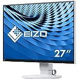 Eizo EV2780-WT 68,4 cm (27 Zoll) Ultra-Slim Monitor (DVI-D, HDMI, USB 3.1 Typ C, DisplayPort, 5ms Reaktionszeit, 2560 x 1440 Pixel) weiß