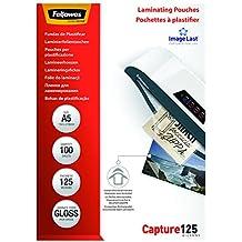 Fellowes ImageLast - Pack 100 fundas de plastificar, formato A5, 125 micras