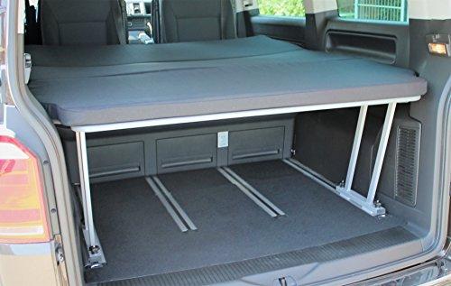 Preisvergleich Produktbild T5/T6 Multivan Schlafpacket - Multiflexboard + T-Stück + Matratze 3teilig RG50/50