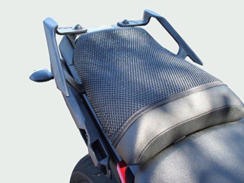 Yamaha MT09Tracer (2015–2017) triboseat sillín pasajero antideslizante Negro