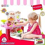 #7: Supermarket Play Set/Baby Kitchen Set with Sound Effect-34 PCs