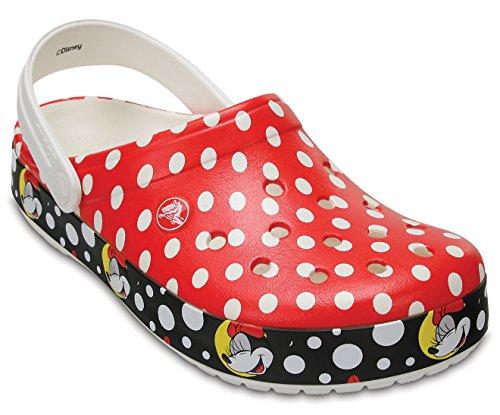 crocs Unisex Crocband Minnie Clog Mule Multi