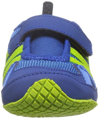 adidas Boat Ac I, Chaussures Mixte Bébé, Multicolore, 22 EU Bleu / Vert (Supazu / Seliso / Eqtazu)