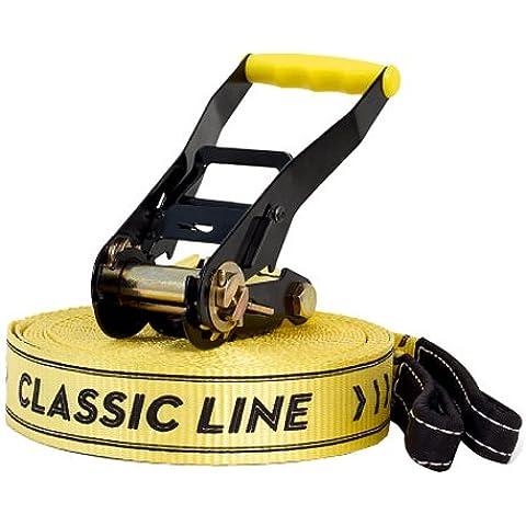 Gibbon - Cinta Classic X13 Tree Pro para equilibrios, color amarillo