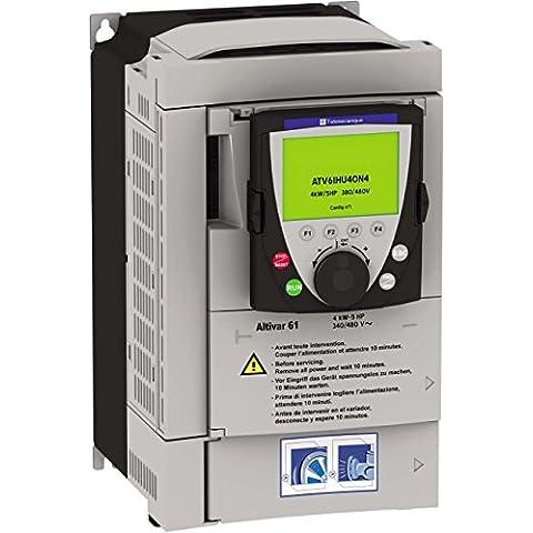 Schneider inverter elettrico ATV61HU30N4 3kW m, azionamento della valvola a farfalla=<1 kV 3389118080171