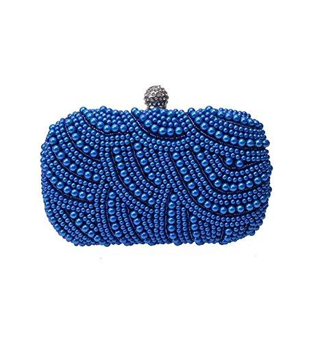 Kleine Frische Perlen Kleid Tasche Kleine Handtasche Clutch Bag Abendessen A1