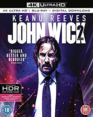 John Wick: Chapter 2 [4k Ultra HD + Blu-ray + Digital Download] [2017]