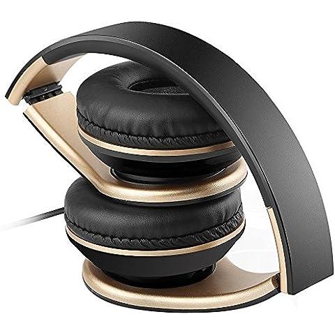 Sound Intone plegable, de 3,5 mm estirable auriculares, para PC, teléfonos inteligentes Android, Iphone, Ipad, Ipod, Samsung, MP3, MP4, MP5