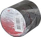 DiO Connected Home DIO530040 Temflex 1300 Lot de 3 Rubans Isolants, Noir