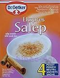 Dr.Oetker Ekspres Salep - 4 Portionen - Getränkepulver mit Salep Aroma - 1er Pack