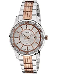 Casio Enticer Ladies Analog Silver Dial Women's Watch-LTP-1358RG-7AVDF (A896)