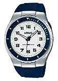Lorus Watches Herren Analog Quarz Uhr mit Plastik Armband R2329LX9