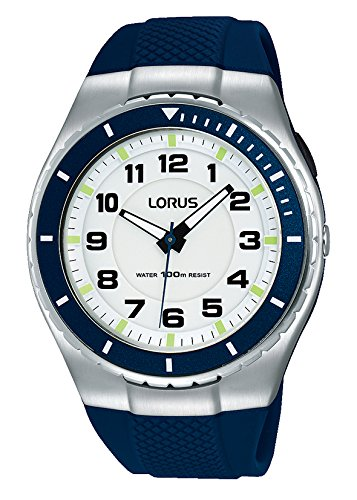 Lorus Unisex-Adult Analogue Classic Quartz Watch with PU Strap R2329LX9