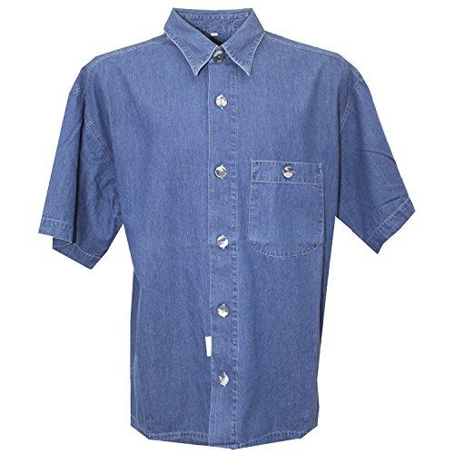 packard-classic-cut-freizeithemd-kurzarm-dunner-jeansstoff-midblue-stone-m-16319