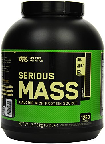Optimum Nutrition Serious Mass Gainer Chocolate, 2,73 kg