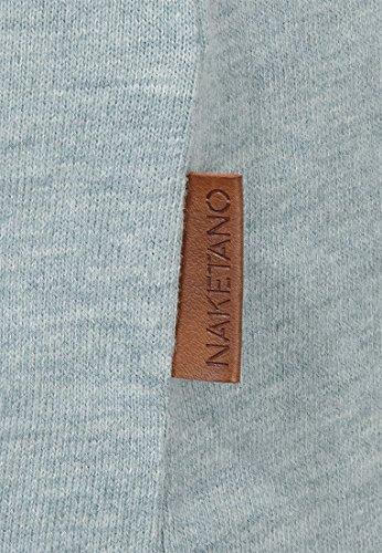 Naketano Male T-Shirt Gelinde Gesagt Wiederkäuer Grün Melange