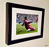 Signed Fernando Torres Liverpool Autographed Photo Photograph Picture Frame