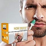 Nose Wax,Kit Nez Cire pour Homme et Femme,avec Applicateur Safe Tip,d'épilation du Nez à la Cire d'Abeille...