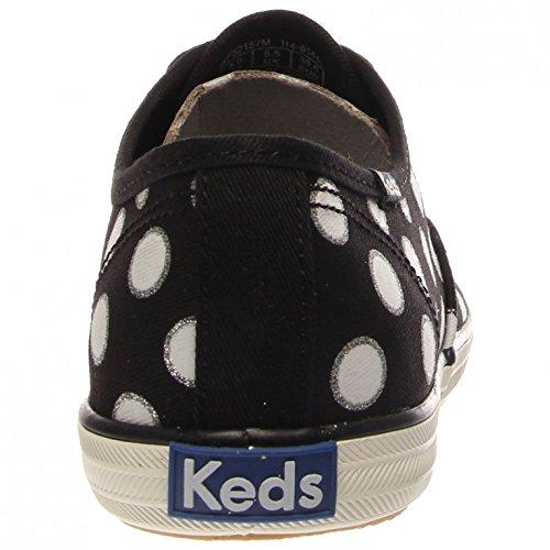 Keds - Chaussures Champion saisonniers de la femme - Glitter Dot Black