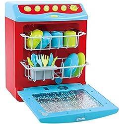 PlayGo Lavavajillas eléctrico con Accesorios (Color Baby 44582)