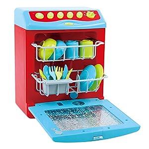Playgo - Lavavajillas eléctrico con accesorios (ColorBaby 44582)