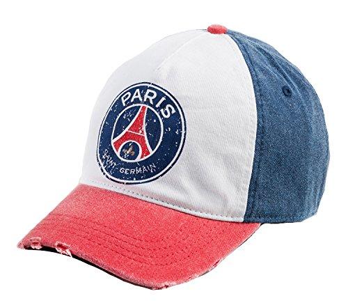 PARIS SAINT GERMAIN Herren Cap PSG, offizielle Kollektion, Erwachsenengröße