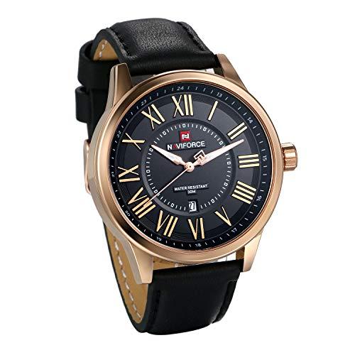 Reloj pulsera deportivo analógico números romanos