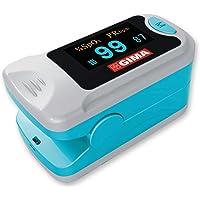GIMA SATURIMETRO OXY-3 | Pulsossimetro da dito portatile professionale, misura il livello di ossigeno nel sangue e il…