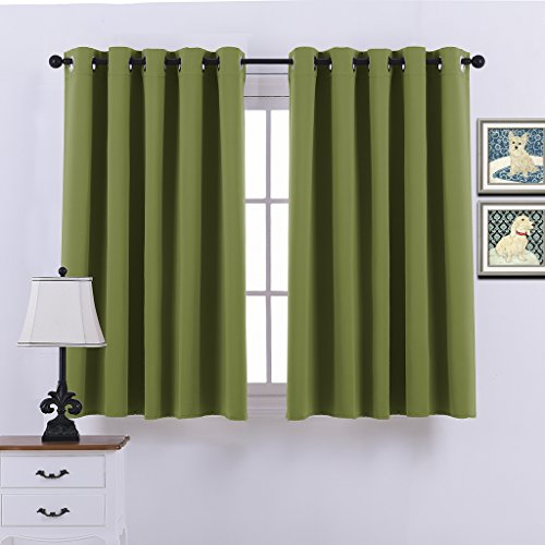 ponydance-functional-blackout-curtains-for-bedroom-thermal-insulated-66width-x-54drop-2-panels-olive