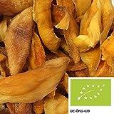 mango deshidratado 1kg, frutos secos delicados de cultivo biológico-controlado, no-sulfurados y sin azúcar