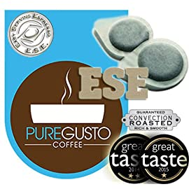 PureGusto ESE Coffee Pods Mixed Selection Pack x 100 – FREE DELIVERY – Great Taste Award Winner Included 517zDZxKvkL