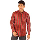 FA French America Checked Slim Fit Full ...