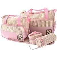 sac à langer bébé avec 5 articles