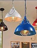 Eeayyygch Die Metall Bar Eisen Lampe Einzigen Kopf Kaffeekanne Kronleuchter Warmweiß-220-240 v M3874 [Energieklasse A +]