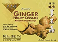 Prince of Peace Ginger Honey Crystals -- 10 Tea Bags