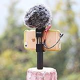 Metall Handy Stativ Halterung mit Cold Shoe Mount, Ulanzi Smartphone Halter Video Rig Stativ Mount Adapter
