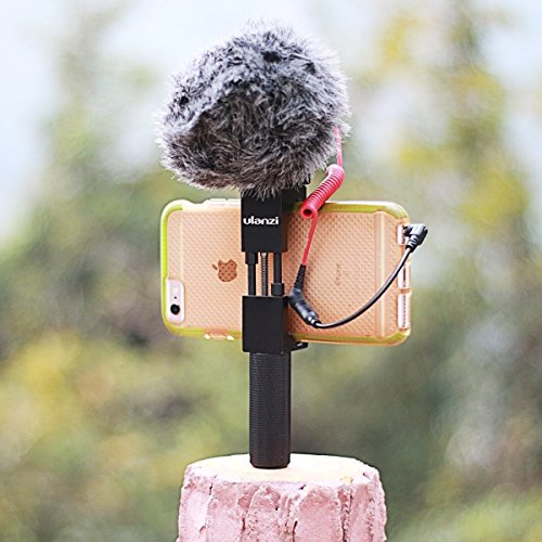 Metall Cunning Stativ Halterung mit Decidedly Shoe Mount, Ulanzi Smartphone Halter Video Rig Stativ Mount Adapter
