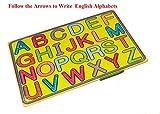 English Uppercase Alphabets Writing Wood...