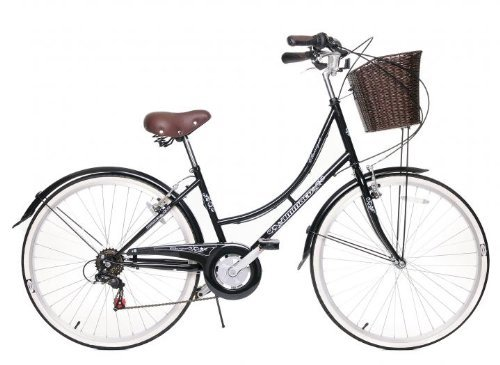 AMMACO CLASSIQUE TRADITIONAL DUTCH STYLE CLASSIC HERITAGE LADIES LIFESTYLE BIKE WITH BASKET 19