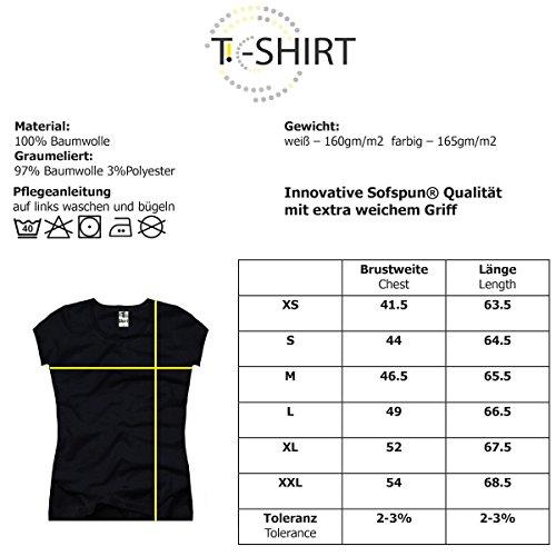 TEE-Shirt, Damen T-Shirt mit Aufdruck. Coole Motive. T-Shirt mit Katzen Druck. Grau