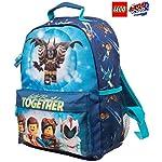Zaino-Lego-per-Bambino-Zainetto-Elementari-Lego-Movie-Batman