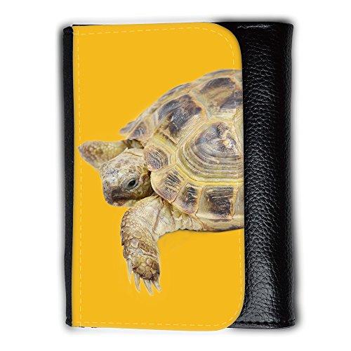 Portemonnaie Geldbörse Brieftasche mit // Q05550602 Schildkröte Bernstein // Medium Size Wallet (Herren-geldbörsen Bernstein)