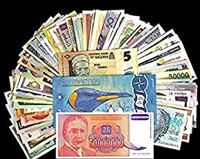 Generic foreign Banknotes for Collection - Set of 50
