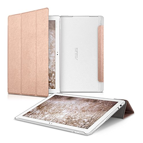custodia tablet asus zenpad 10 kwmobile ZenPad 10 (Z300) Custodia Flip - Smart Cover in Pelle PU per Tablet - Copertina Tab Ultra Sottile per ASUS ZenPad 10 (Z300)