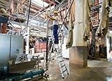 Aluminium-Stehleiter einseitig begehbar mit clip-step R13, 14 Stufen - 41634